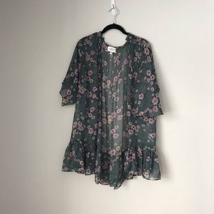 AEO lightweight bell sleeve cover up